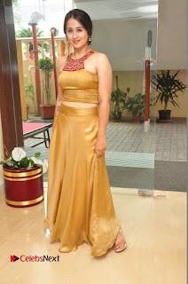 Actress Simrat Juneja Pictures in Golden Long Dress  0069.JPG