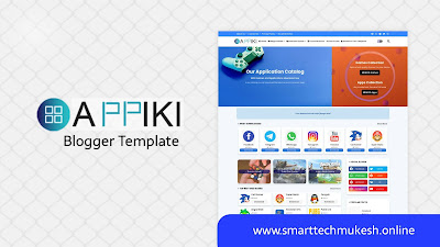 Appiki - Premium App Store Blogger Template