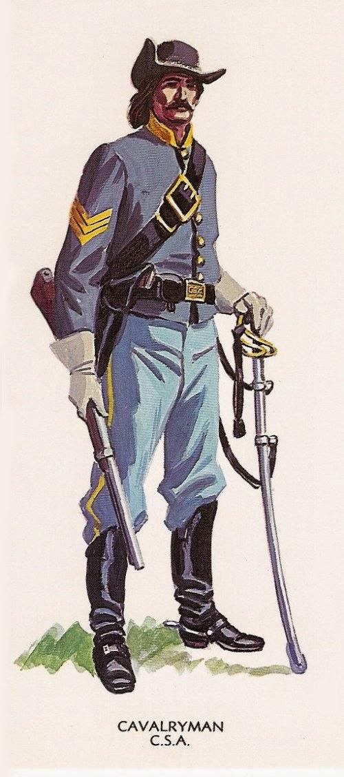 Confederate Sergeant Cavalry picture 1