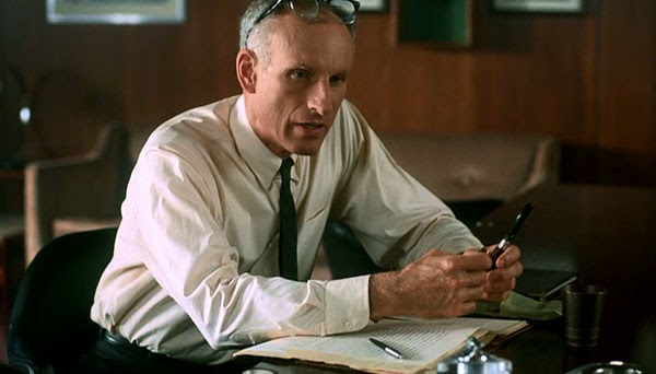 James Rebhorn in From the Earth to the Moon
