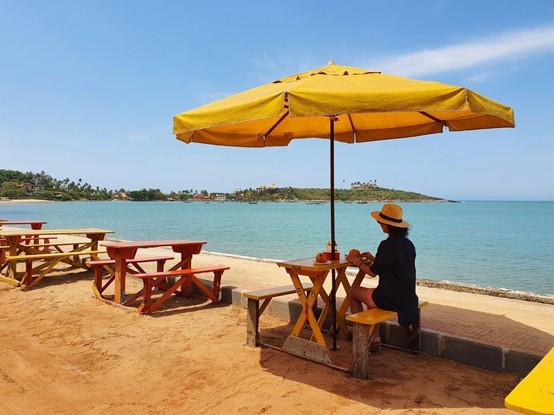 Melhor barraca de praia de Guarapari