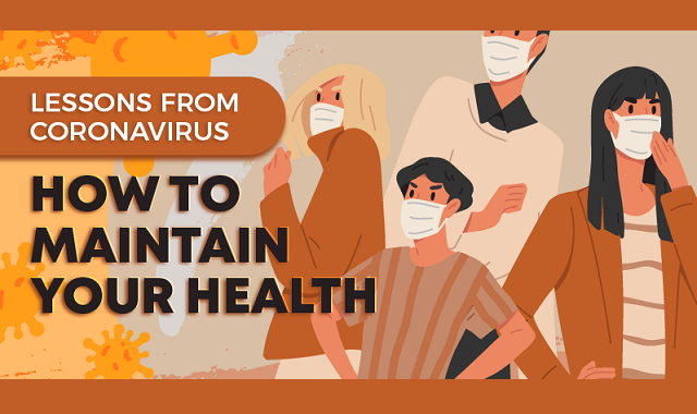 How to maintain your health during the pandemic