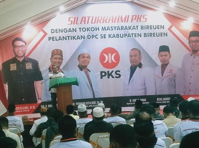Nasir Jamil : Pohon PKS Akan Semakin Rimbun dan Kokoh Sampai Ke Akarnya