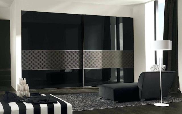 Stylish Bedroom wardrobe design image