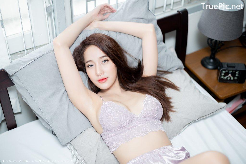 Image-Thailand-Hot-Model-Pichana-Yoosuk-Sexy-Purple-Bra-Shiny-Short-Pants-TruePic.net- Picture-7