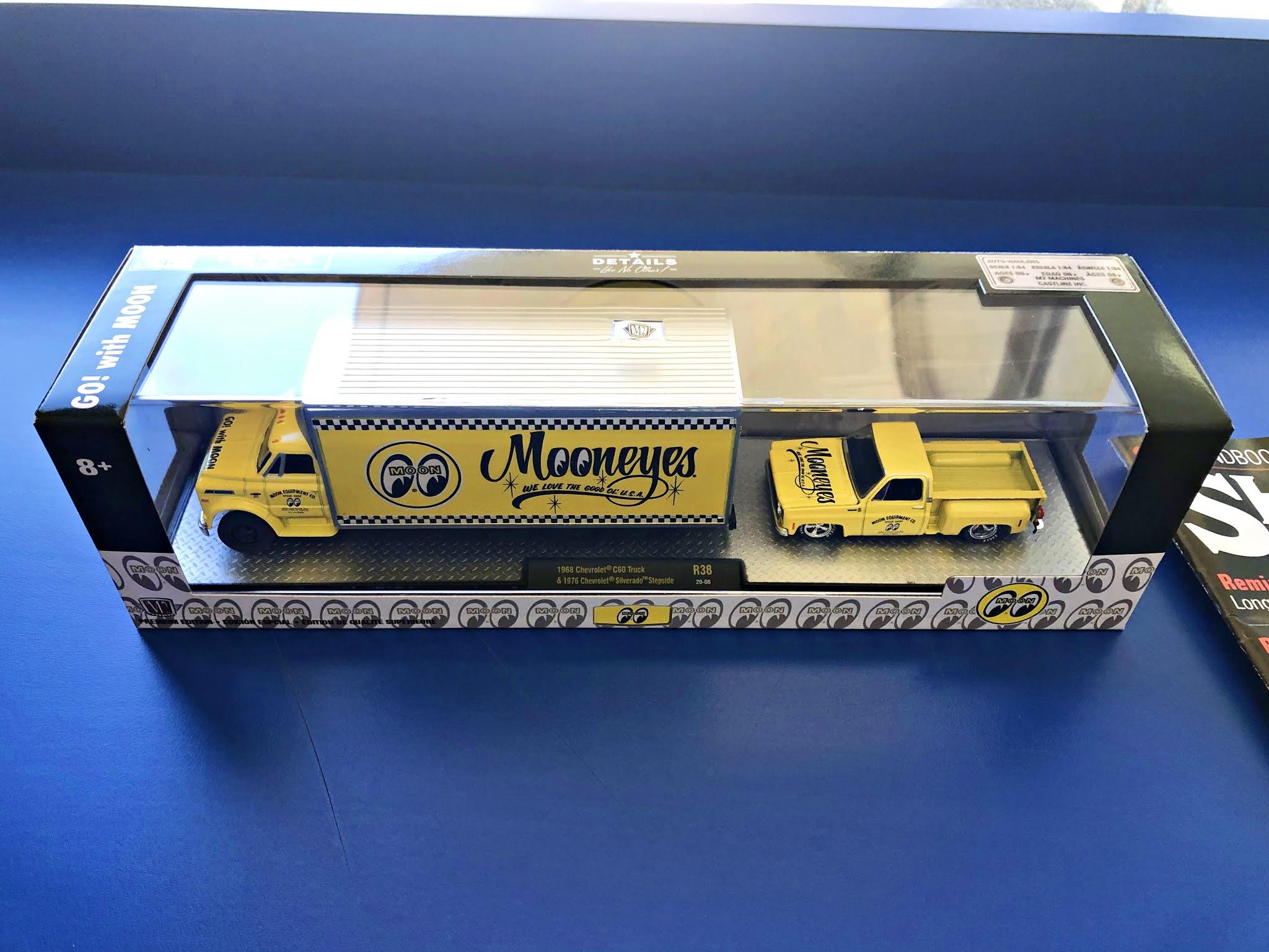 M2 Machines Mooneyes 1968 Chevrolet C60 Truck /& 1976 Chevrolet Silverado...
