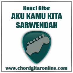 Chord SARWENDAH Aku Kamu Kita Kunci Gitar