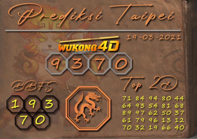 PREDIKSI TOGEL TAIPEI WUKONG4D 19 MARET 2021