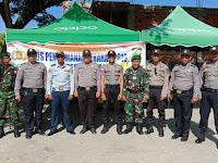 Sinergitas TNI-POLRI di Kab. Malinau dalam penggamanan Operasi Ketupat Kayan 2019