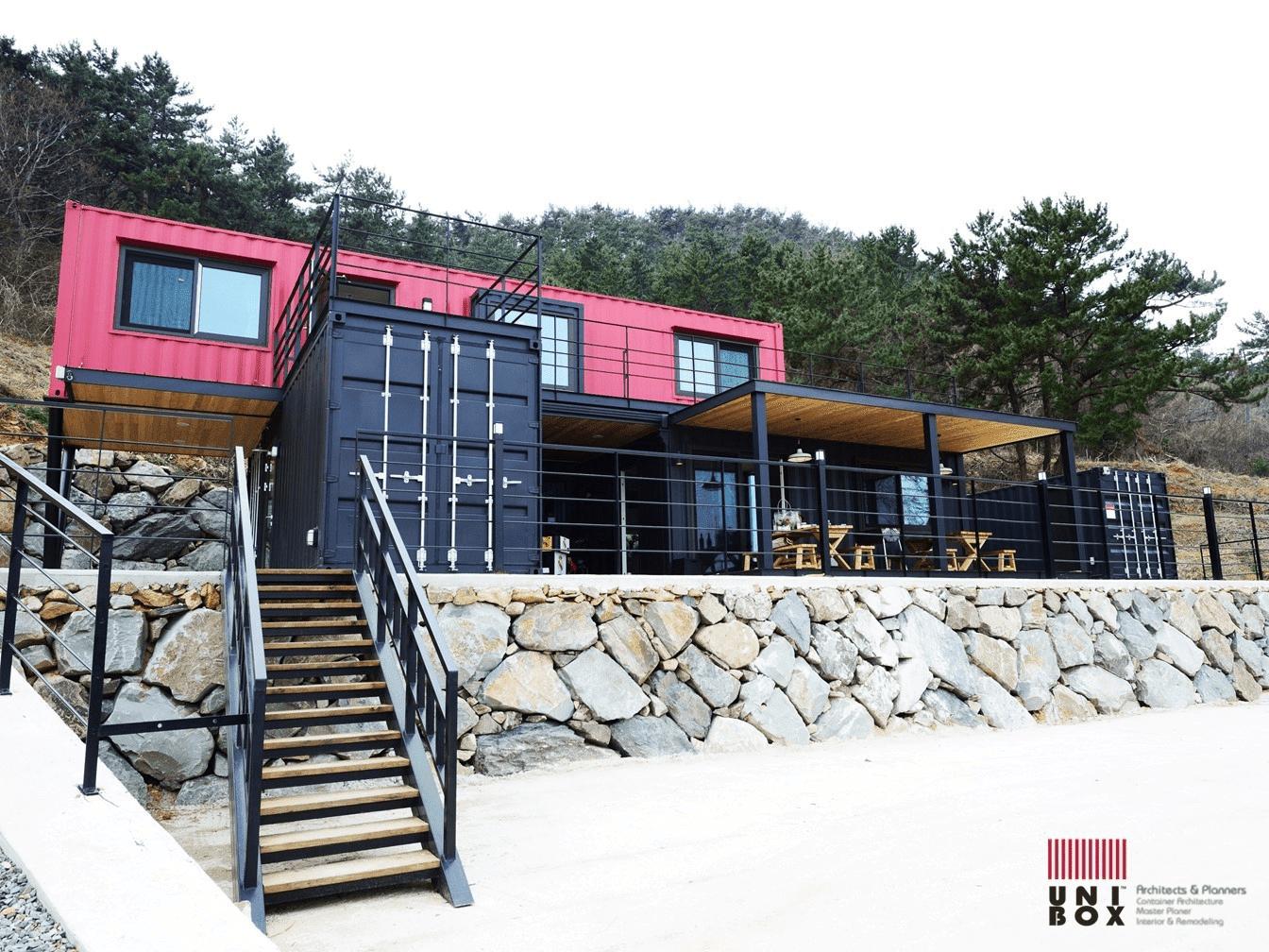 rumah kontainer minimalis
