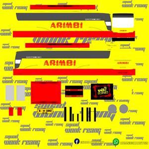 Livery Arimbi Euroliner