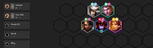 Người chơi cần phải biết phương pháp đổi mới team hóa hình sư trong thời đoạn giữa ván