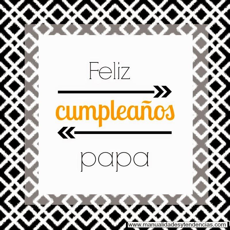 Tarjeta de cumpleaños imprimible gratis para padre