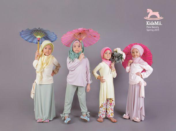 10 Idées de Hijab pour les fillettes