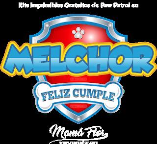 Logo de Paw Patrol: MELCHOR