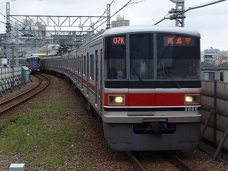 都営地下鉄三田線 高島平行き2 東急3000系