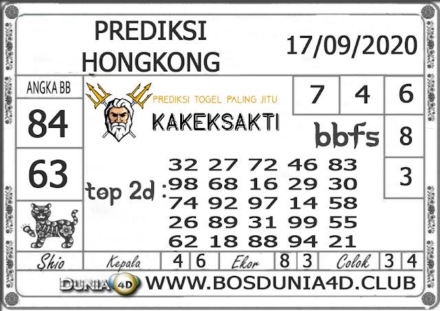 Prediksi Togel HONGKONG DUNIA4D 17 SEPTEMBER 2020