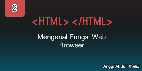 Mengenal Fungsi Web Browser