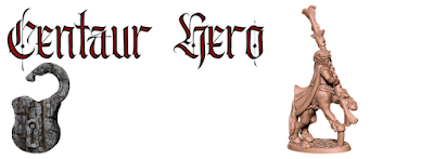 The centaur hero has been added to the character pack! Many thanks for your support.  Many thanks