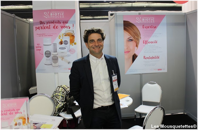 Biothic Phocea - Beauty Forum Paris - Blog beauté Les Mousquetettes