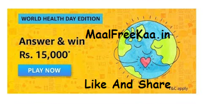 World Health Day Edition Quiz