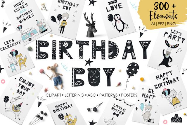 planificador, cumpleaños, chicas, descargar, gratis, pdf, chico