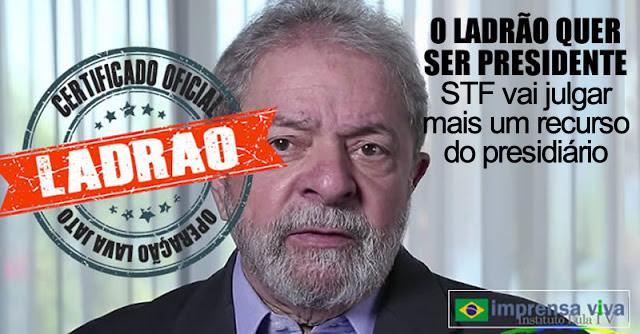 Resultado de imagem para IMAGEM PARA O PRESIDIÁRIO LULA