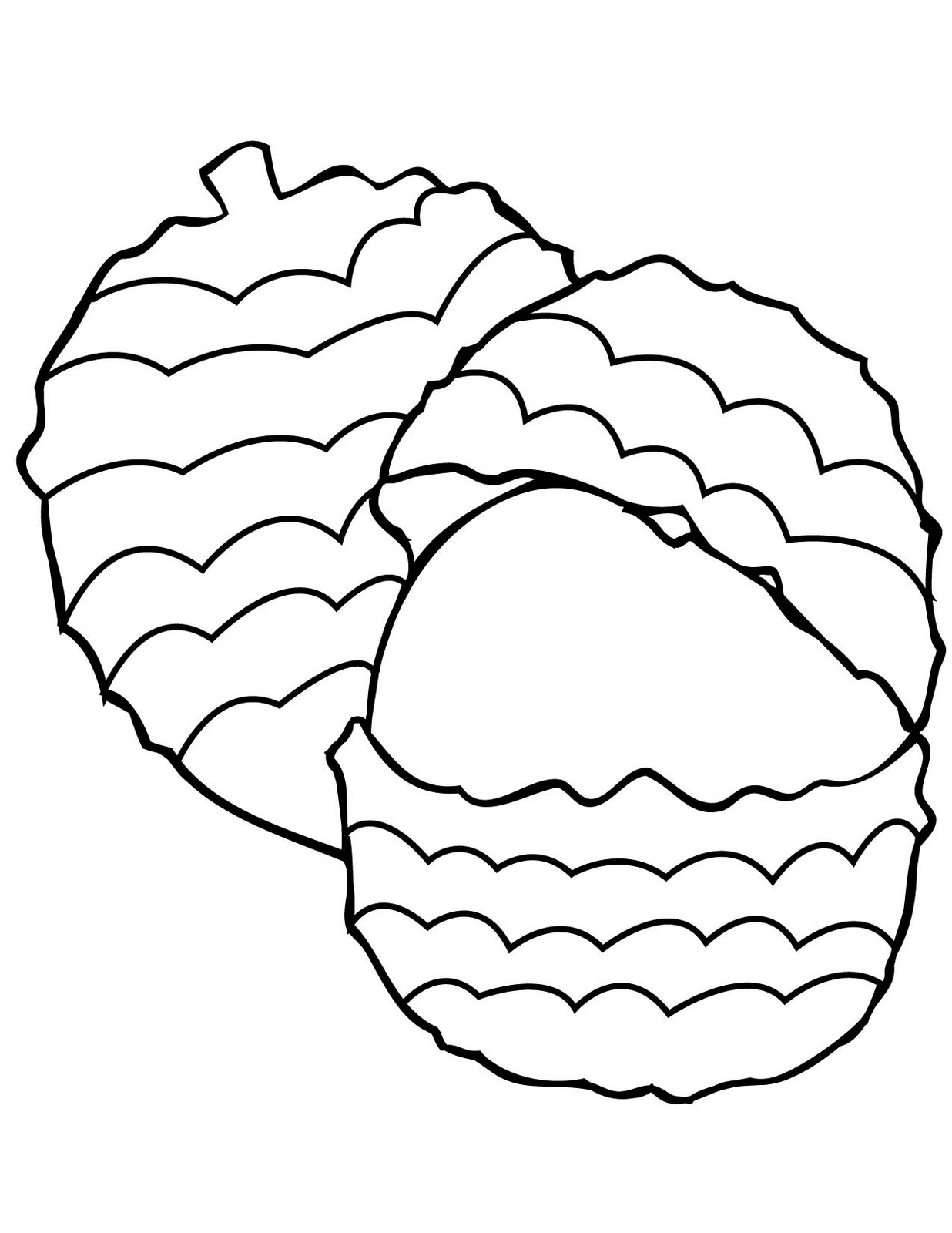 Coloring Pages Of Fruit Valentine