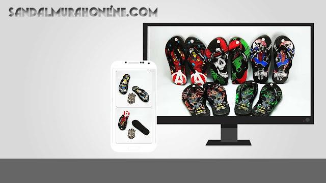 Sandal Karakter Anak Cowok- AMX Karakter Spon Anak