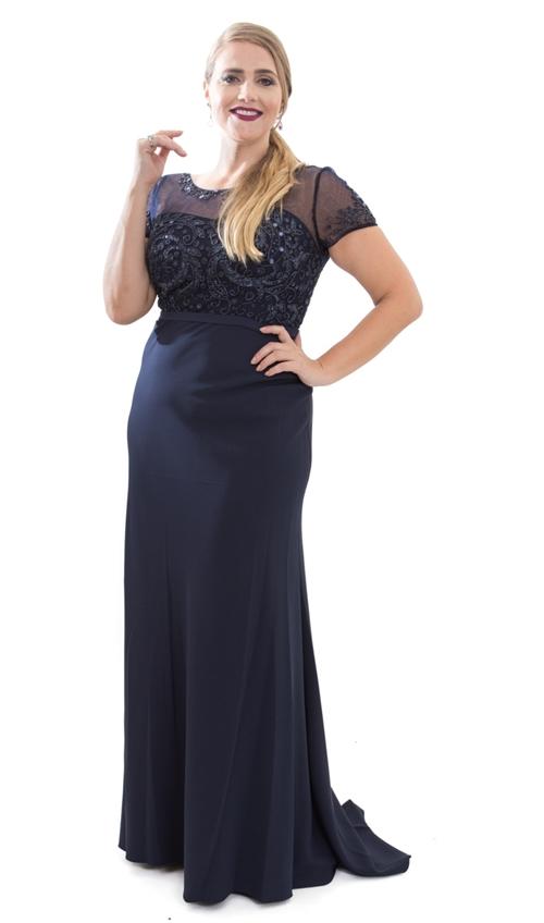 vestido de festa plus size sp