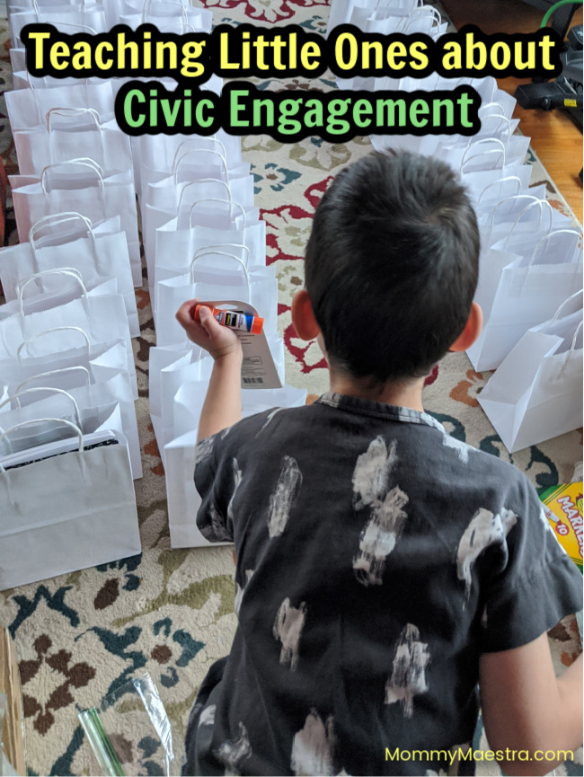 Teaching Little Ones about Civic Engagement