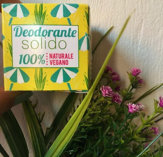 Deodorante solido alla palmarosa Lamazuna
