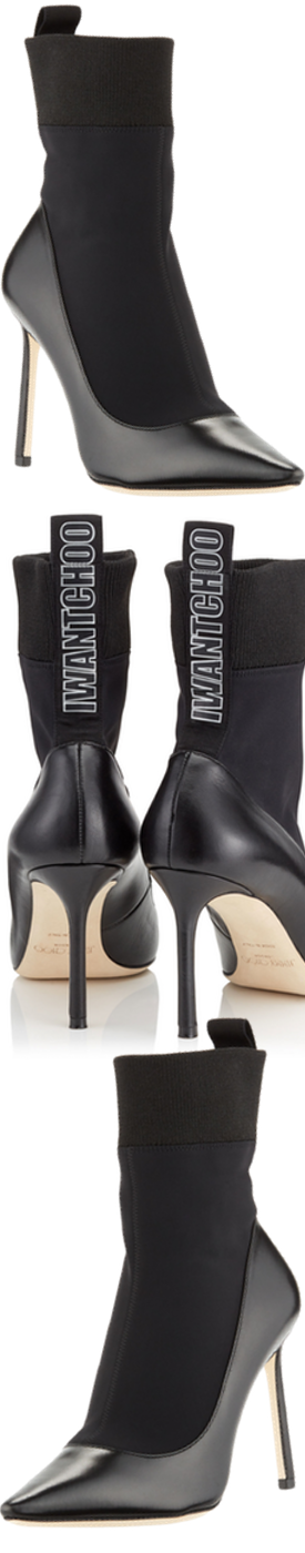 JIMMY CHOO BRANDON 85 BOOTIES