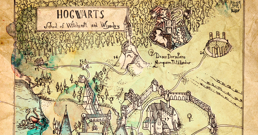 Hogwarts Map Official | www.imgkid.com - The Image Kid Has It!