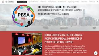 申請「第 2 屆亞太區正向行為支援2019研討會」社區教育活動義工