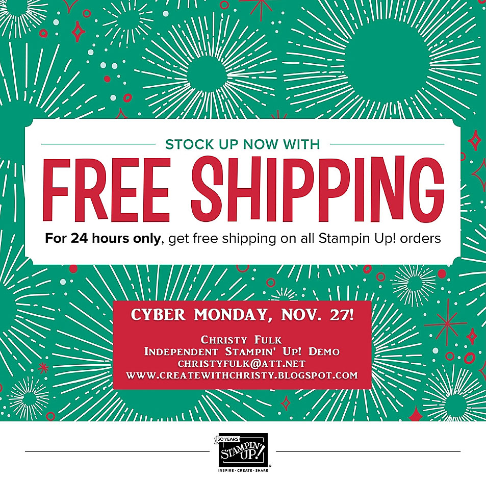 Free Shipping Today: Create With Christy: Free Shipping TODAY ONLY