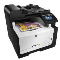 Impressora HP LaserJet Pro CM1415fnw MFP