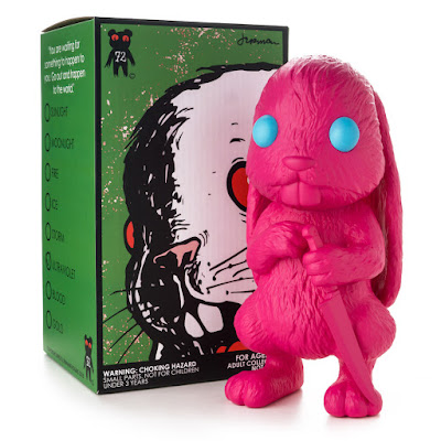 Kidrobot Exclusive Choices Ultraviolet Edition Vinyl Figure by Jermaine Rogers