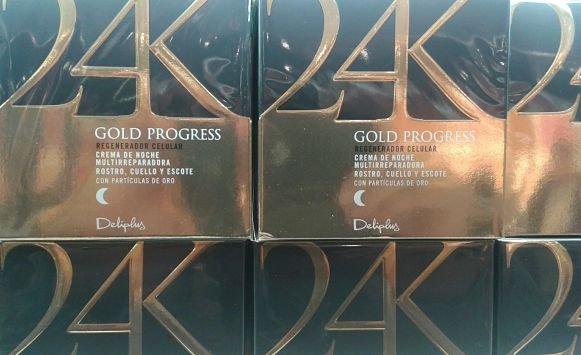 Crema regeneradora Gold Progress Deliplus