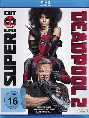 Deadpool 2 (2018) Dual Audio ORG Hindi 720p BluRay 1.1GB