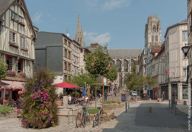 Visitar Ruan Rouen ciudad bonita Normandia que ver Francia diario viaje