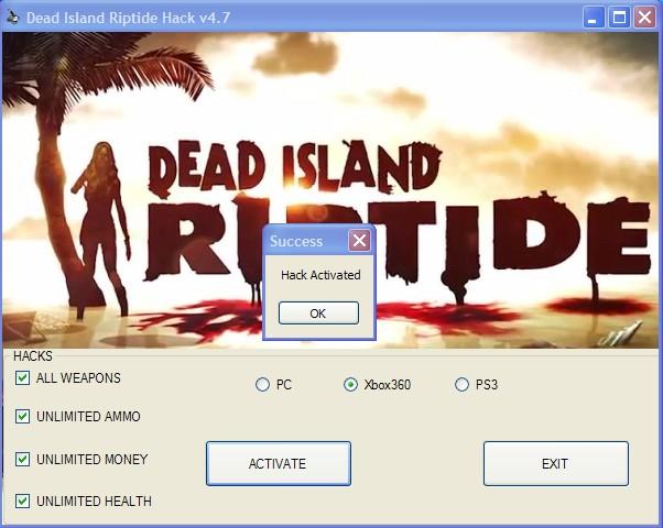 Dead Island Riptide Weapons Hack