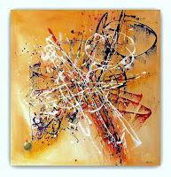 Tele Dipinte Moderne.Quadri Moderni Astratti Dipinti Sanader Art Pittura