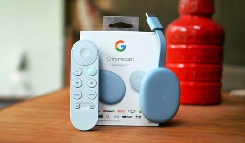 The new Chromecast comes with Google TV