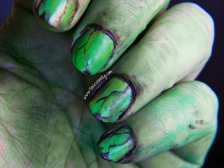 Uñas de bruja | Bad Witch nail art - Toxic Vanity