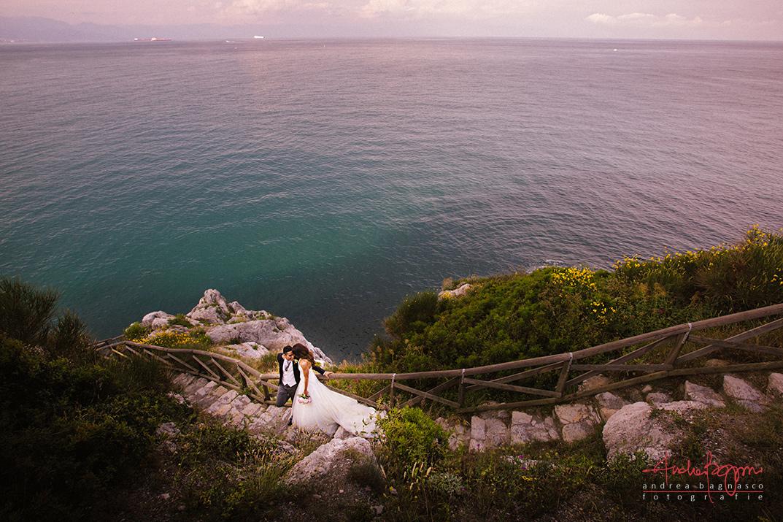 wedscape Italy riviera wedding photographer landscape