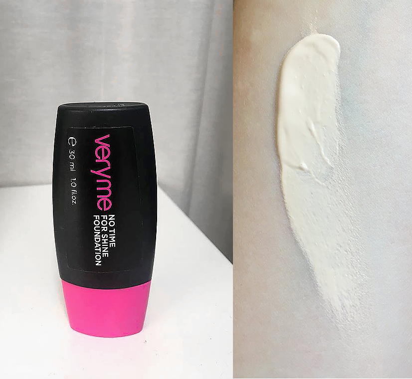 Oriflame No Time for Shine Foundation: Snow Touch - 31901 REVIEW