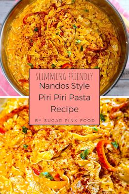 Fakeaway recipe slimming world nandos chicken pasta