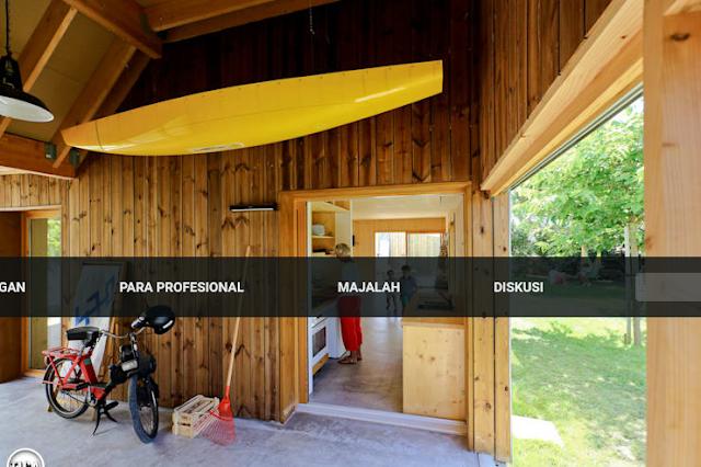 3. Panel kayu alami