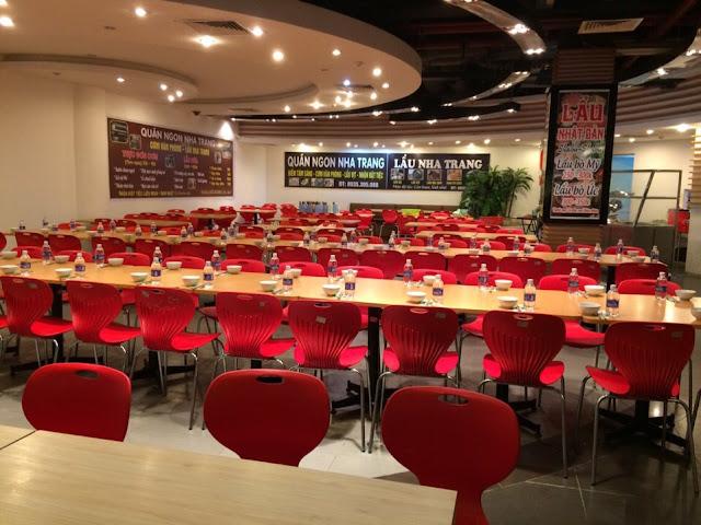 Gần các khu vực nhà hàng, địa điểm ăn uống